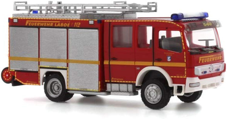 Rietze 68259Mercedes Benz Schlinguomon HLF 20FW Laboe Truck modello