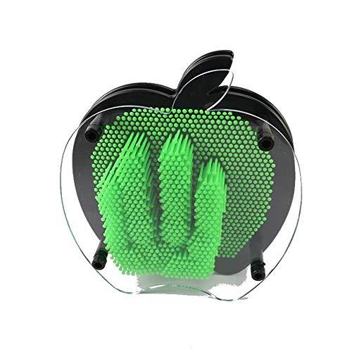 BaiXing Apple 3D naaldschildering driedimensionale naald, de klonplastic handafdruk handafdruk snijdt creatief decoratief handwerkgeschenk