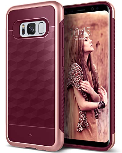 Caseology Parallax for Samsung Galaxy S8 Plus Case (2017) - Burgundy