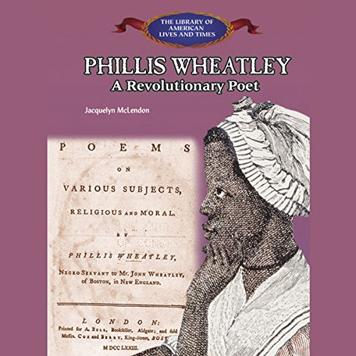 Phillis Wheatley audiobook cover art