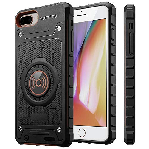 "Fey-US Slim iPhone 7 Plus/8 Plus/6 Plus/6s Plus Battery Case, 4000mAh Slim Portable Protective Charging Case for iPhone 6+/6S+/7+/8+ Plus (5.5"") Rechargeable Extended Battery"