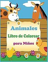 Animales Libro de Colorear para Niños: Libro de colorare para niños y niñas con 100 motivos de animales - Relajantes Libro...