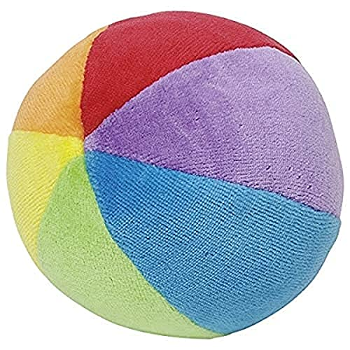 Cause - Hochet Tissu - Balle Velours avec Grelot 10 cm