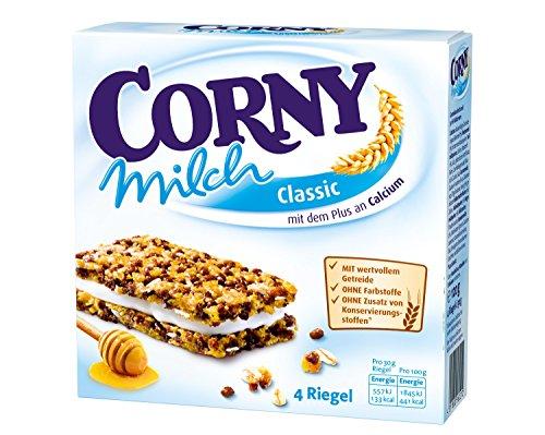 Corny Milch Classic, Milchsandwich, 8er Pack (8 x 120 g)