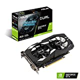 ASUS Dual GeForce GTX 1650 4GB GDDR5 maximum efficiency gaming graphics card DUAL-GTX1650-4G