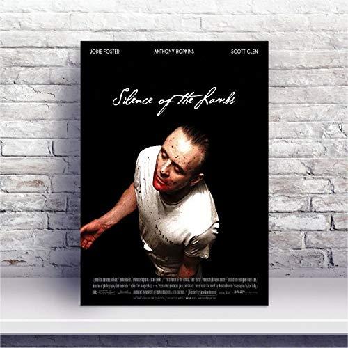 Placa MDF O Silêncio dos Inocentes filme