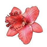 Ruikey les cheveux de pince à cheveux broche fleur hawaïenne mousse accessoire mariage beach decor