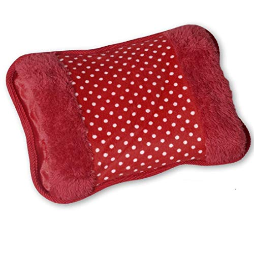 xaviera® Electric Velvet Heating pad Hot water Heat Pouch bag with gel for pain relief (Multicolour)