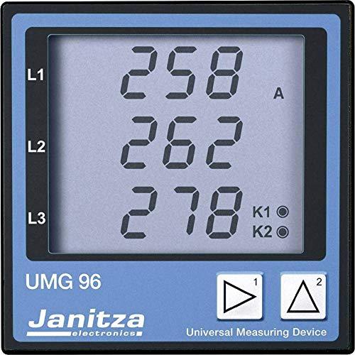 Janitza UMG 96 Vierleiter Universal-Messgerät Spannung: L-N 196-275 VAC, L-L 340-475 VAC, 45 -