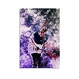 diannao Coldplay Poster, dekoratives Gemälde, Leinwand,