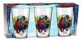 empireposter Glas-Set - Spider-Man Trio - 237 ml - 3 Gläser - Trinkglas Kinder Geschirr