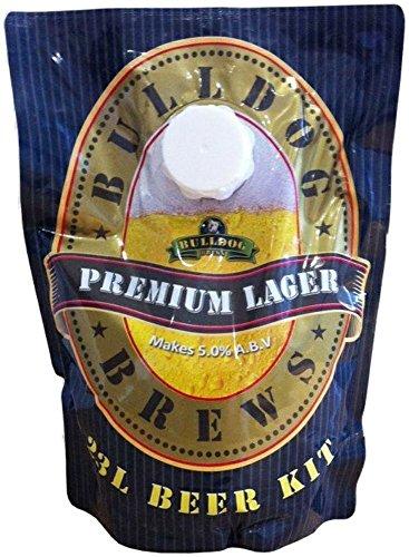 BULLDOG SECURITY Kit para Hacer Cerveza Premium Lager