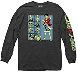 Ripple Junction One Piece Group Grid with Sleeve Logo Long Sleeve Large Heather Charcoal