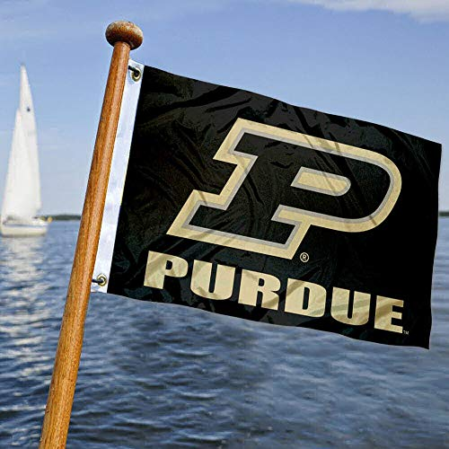 College Flags & Banners Co. Purdue Boat and Nautical Flag
