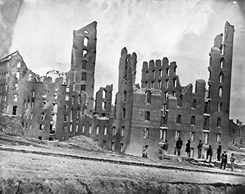 Civil War Richmond 1865 Nruins Of The Gallego Flour Mill At Richmond Virginia Following The American Civil War Photograph By Alexander Gardner April 1865 Poster Print by (24 x 36) -  Granger Collection, GRC0002159LARGE