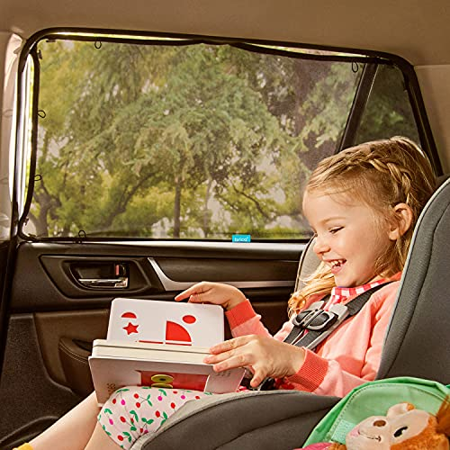 Product Image of the Munchkin Brica Magnetic Stretch to Fit Sun Shade, Black