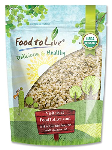 Chinese Organic Hemp Seeds, 4 Pounds — Raw Hearts, Hulled, Non-GMO, Kosher, Vegan, Bulk