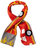 Kidorable Baby Little Soft Acrylic Knit Scarf for Boys, Fireman (Red), One Size