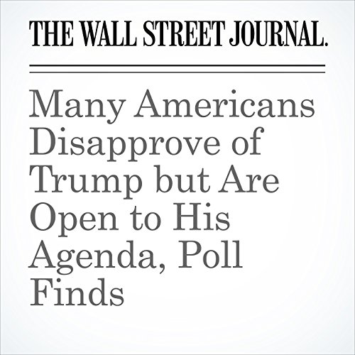 Many Americans Disapprove of Trump but Are Open to His Agenda, Poll Finds copertina