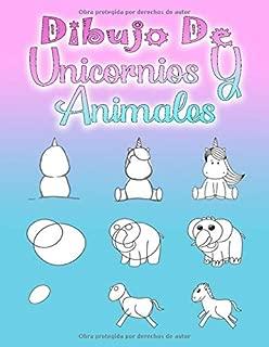 Dibujo De Unicornios Y Animales: Aprende a dibujar para niños a partir de 5 años y adultos, 112 páginas, A4 (Spanish Edition)