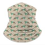 zhouyongz Sombrero de pastor alemán en exfoliantes médico, dentista, veterinario, color caqui unisex para hombre y mujer, súper suave, para esquí, senderismo