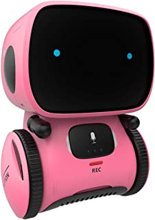 98K Kids Robot Toy, Smart Talking Robots Intelligent Partner and Teacher with Voice Control and Touch Sensor, Singing, Dancing, Repeating, Gift for Boys and Girls of Age 3 and Up