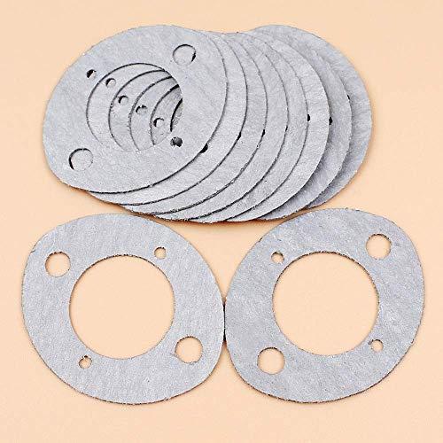 10 unids/lote, junta de carburador para HUSQVARNA 2101 2100, 288, 281, 268, 61181, 268K 266 66, piezas de motosierra JONSERED 630
