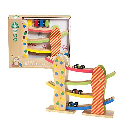 Early Learning Centre Wooden Click Clack Track Playset  $7.10 at Amazon