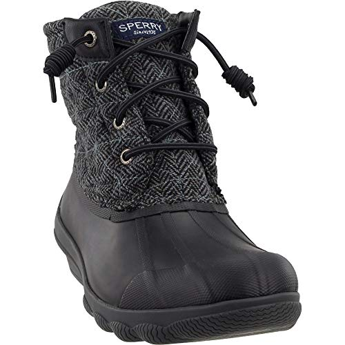 SPERRY Women's Syren Gulf Duck Boot (6.5 M US, Grey/Black)