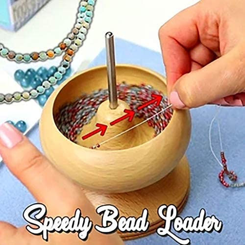 Spin n Bead Bead Loader 3 Piece Bead Spinner Set String Beads Quickly and Efficiently Save Time product image