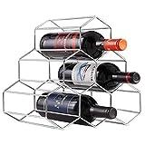 MJYT 6 Flasche Aufsatz- Weinregal Wein-Halter for Rot Weiß Weinlagerung...