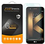 (2 Pack) Supershieldz for LG K20 Plus Tempered Glass Screen Protector, Anti Scratch, Bubble Free