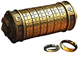 WHRMQ The Mini Da Vinci Code Cryptex Lock,Revomaze,Toy Interesting Gifts for Her or Him to All Festivals Occasions Such as Birthday or The Other Annversary.