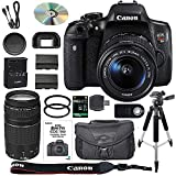 Canon EOS Rebel T6i DSLR Camera Bundle with Canon...
