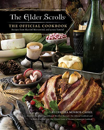 official elder scrolls Skyrim cookbook