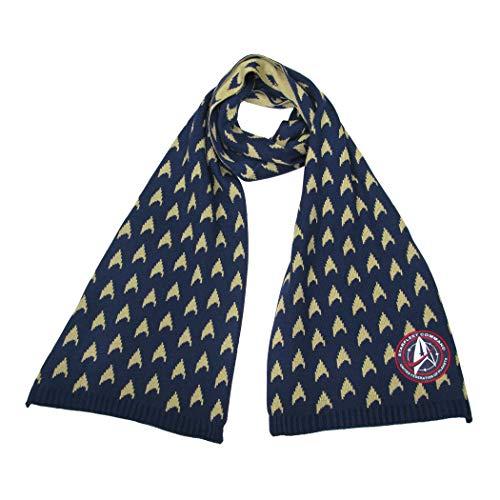 STAR TREK Discovery Sternenflotte Akademie Schal - Offizielle Merchandise Ware Kleidung von LOVARZI