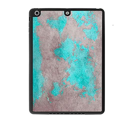 Carcasa de calidad compatible con Apple iPad Mini con mapamundi para niños