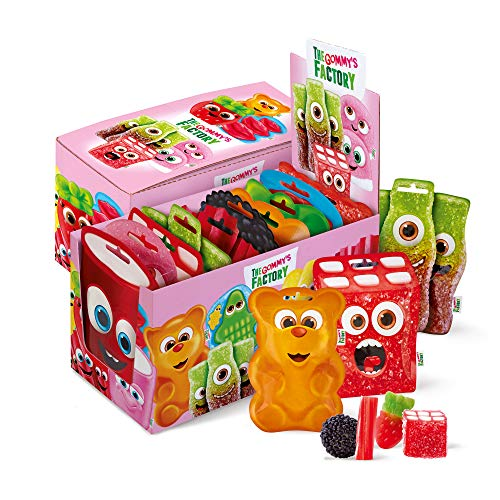 Gommy's Factory Golosina (Happy Box) - 10 De 90 Gr. (Total Gr.), 900 Gramo