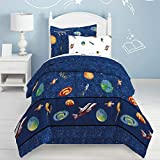 Dream Factory Kids 6-Piece Complete Set with Bedskirt Easy-Wash Super Soft...