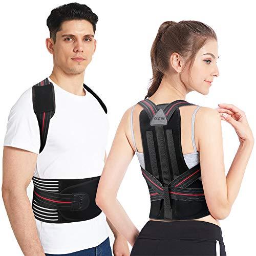 COFIT Geradehalter zur Haltungskorrektur Verstellbare Rückenstütze für Männer und Frauen Gerät zur Unterstützung der Wirbelsäule und des Rückens, lindert Schmerzen in Nacken, Rücken und Schultern