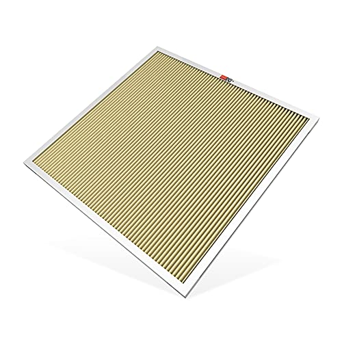 K&N 24x24x1 HVAC Furnace Air Filter, Lasts a...