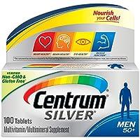海外直送肘 Centrum Silver Ultra Mens Multivitamin/Multimineral Supplement Tablets, 100 tabs