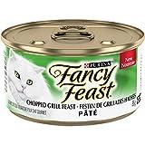 Fancy Feast Chopped Grill Pate Wet Cat Food, 85 g, 24 Pack