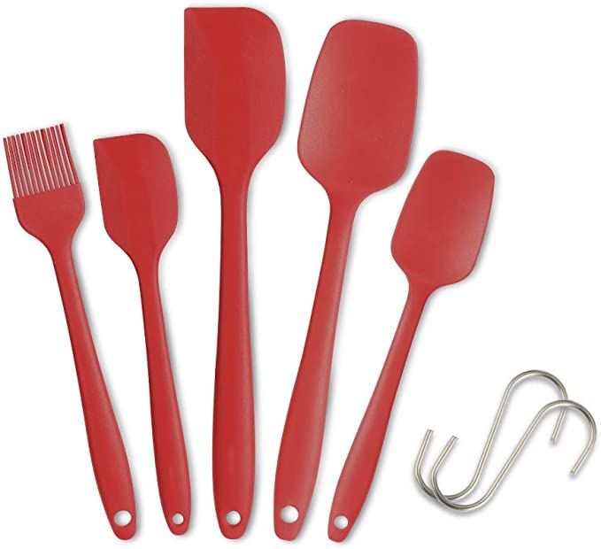 982 opinioni per IdealHouse Set di spatole in Silicone Spatola Resistente al Calore da Cucina (5