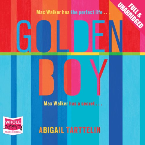 Golden Boy audiobook cover art
