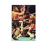 Mike Tyson 5 - Póster de boxeo con diseño de maestro de boxeo (30 x 45 cm)