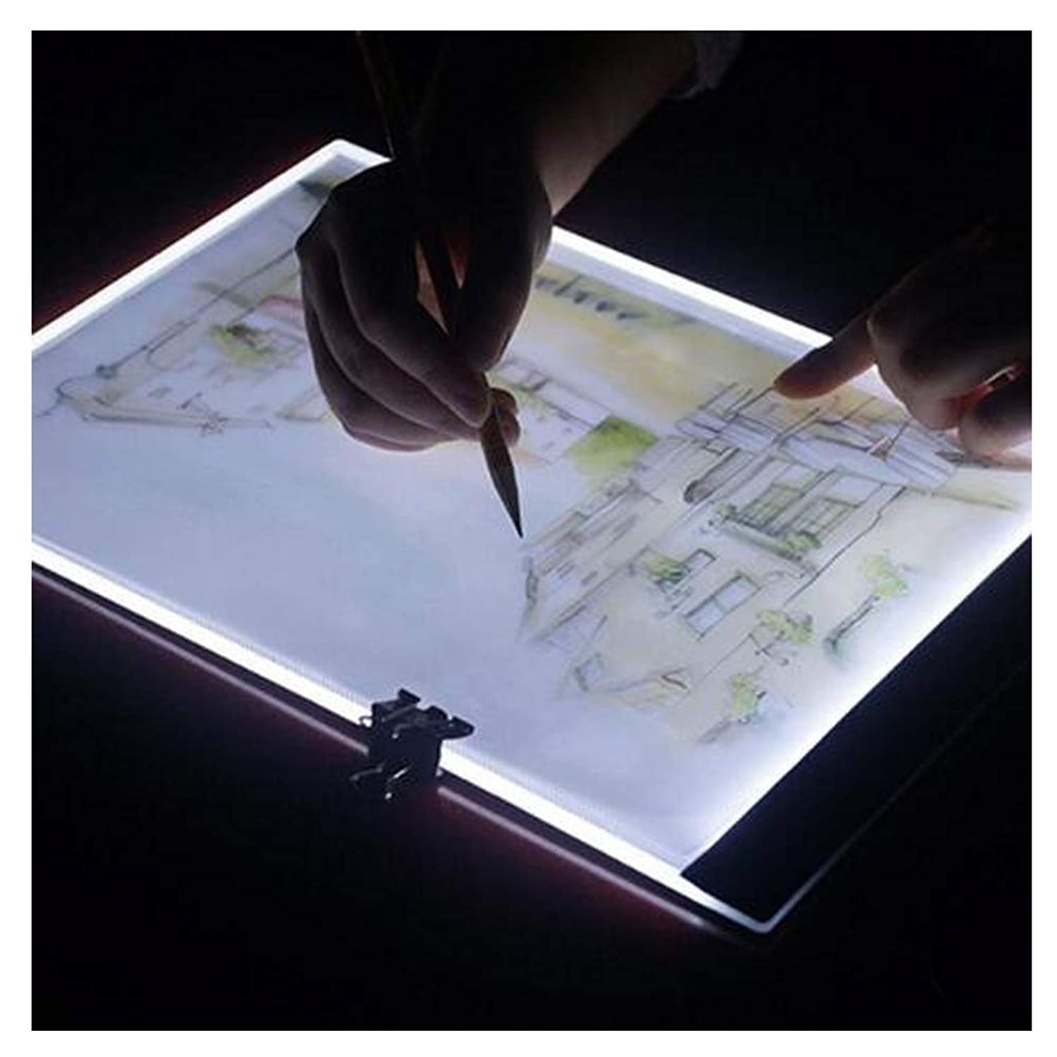Mobicus Diamond Painting A4 LED Light Pad, Dimmable Light Board Kit, Symbols and Numbers Clearer