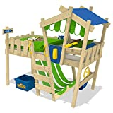 WICKEY Kinderbett 'CrAzY Hutty' - Hochbett - Spielbett - 90x200 cm