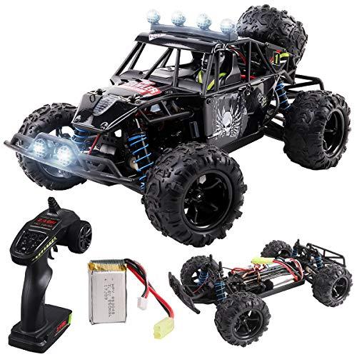 Maxxrace RC Autos Elektrisches Ferngesteuertes Spielzeugs, Remote Control Crawler Autos mit 4WD, 40Km/h, 2.4G, LED Geländewagen Geschenk für die Kinder / Jugendlichen High-Speed Fahrzeuge*