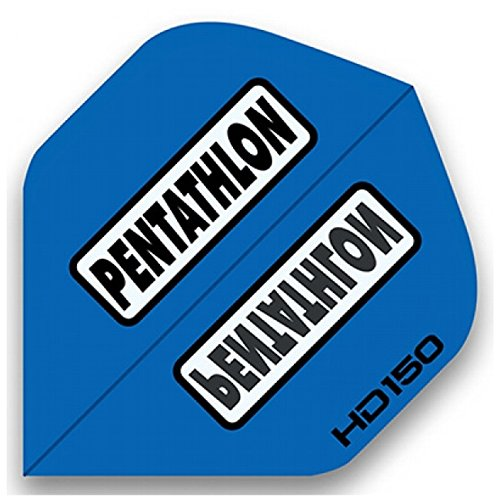 Pentathlon, alette HD150, 5set = 15pezzi, Blau